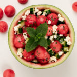 Melone | Gurke | Feta | Minze